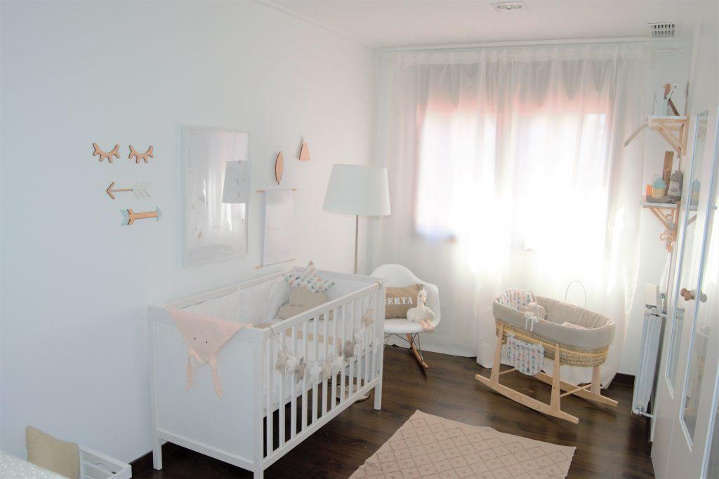 C mo decorar una habitaci n de ni a estilo n rdico la - Habitacion para nina ...